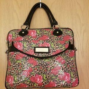 Betsy Johnson Sequin Laptop Bag